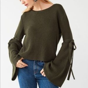 UO Bell Sleeve Sweater